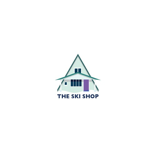 LOGO concept for ski shop