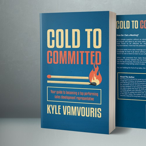 Cold to Committed book cover