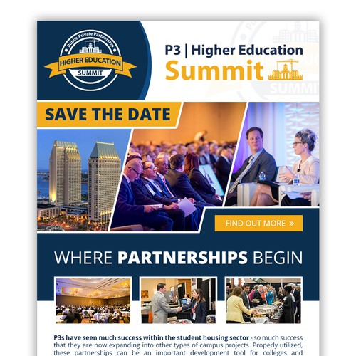 Conference Email design