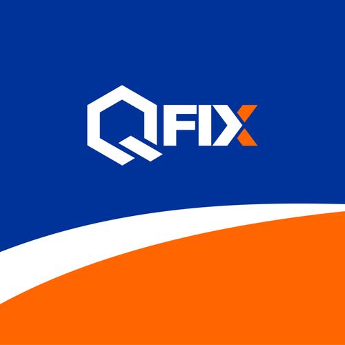 QFIX logo design.