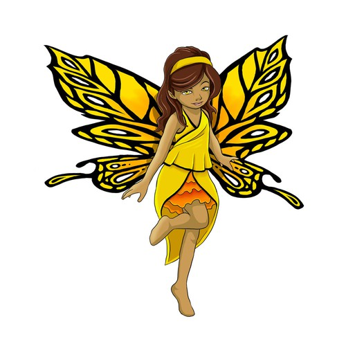 """Looking for a children book character. The name is """"Asor the Butterfly"""""""