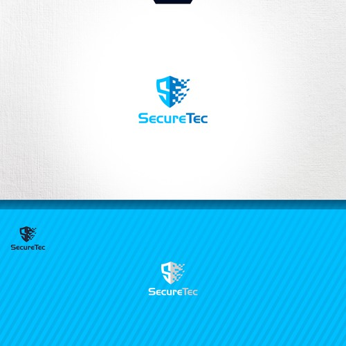 Create an awesome unique and trustworthy brand for SecureTec