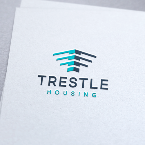 Logo and Jimdo Website for Trestle Housing Software