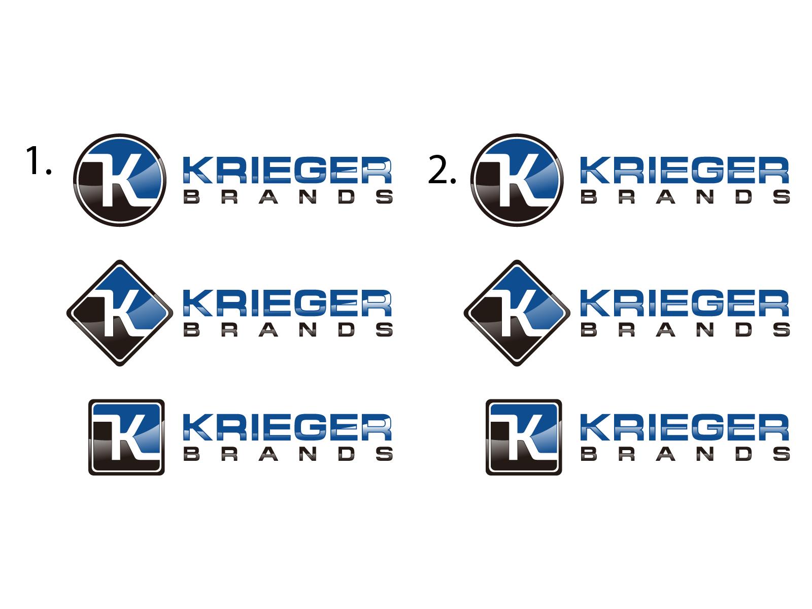 Krieger Brands Logo Design