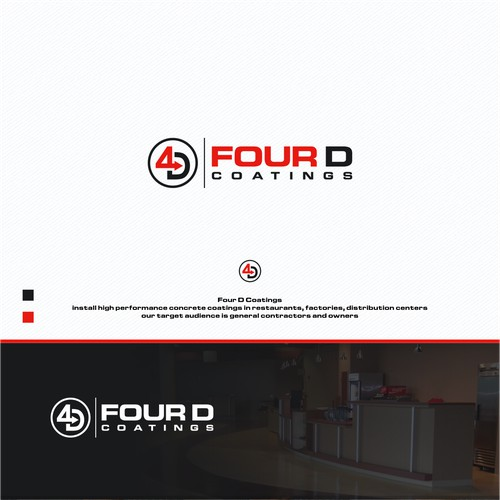 Create an awesome logo for niche concrete coating company