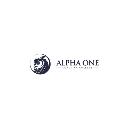 Bold logo concept for Alpha One Coaching College