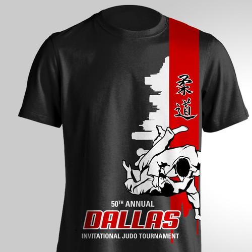 Dallas T-shirt Judo tournament