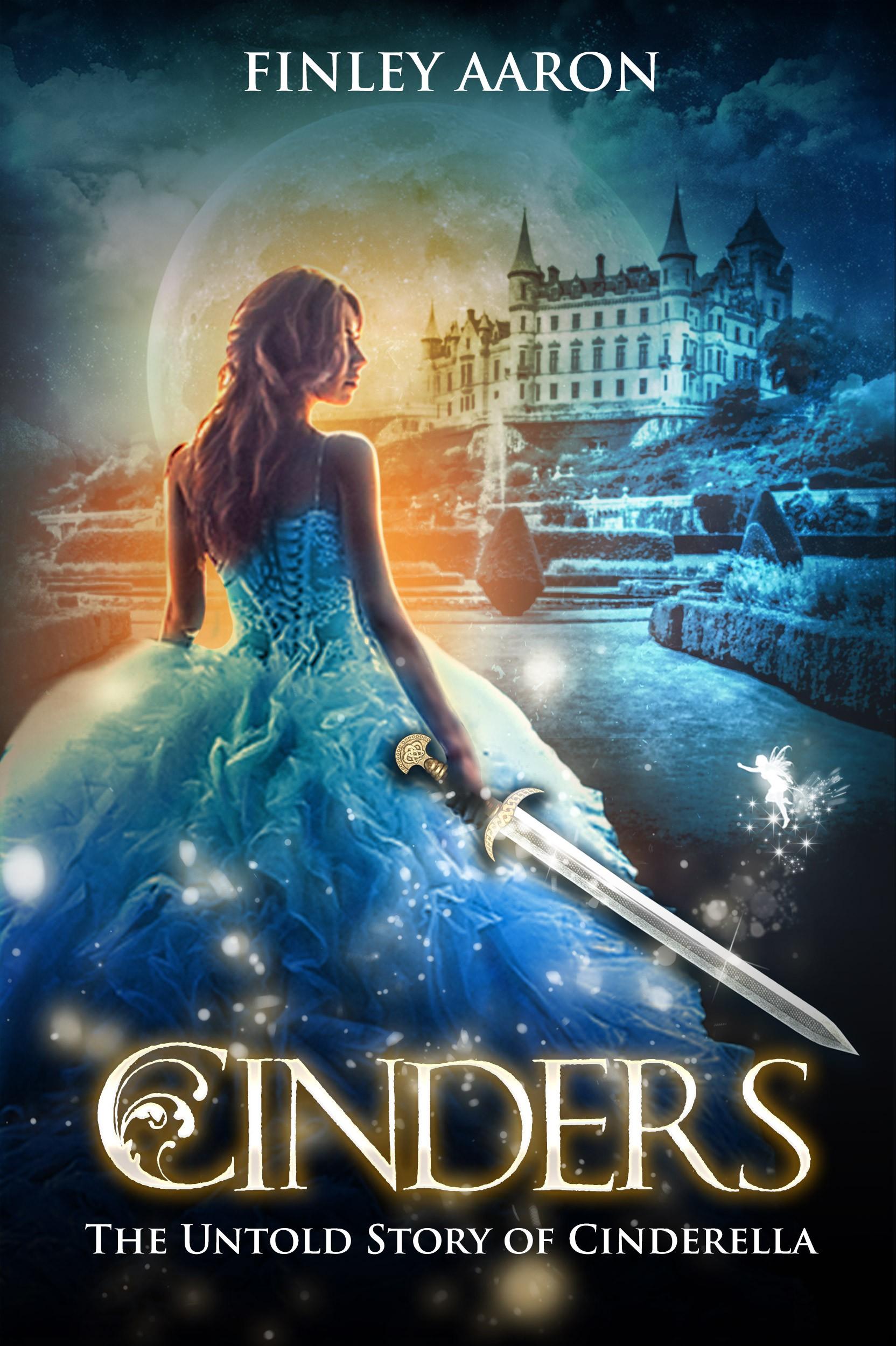 YA book cover Cinderella warrior retelling