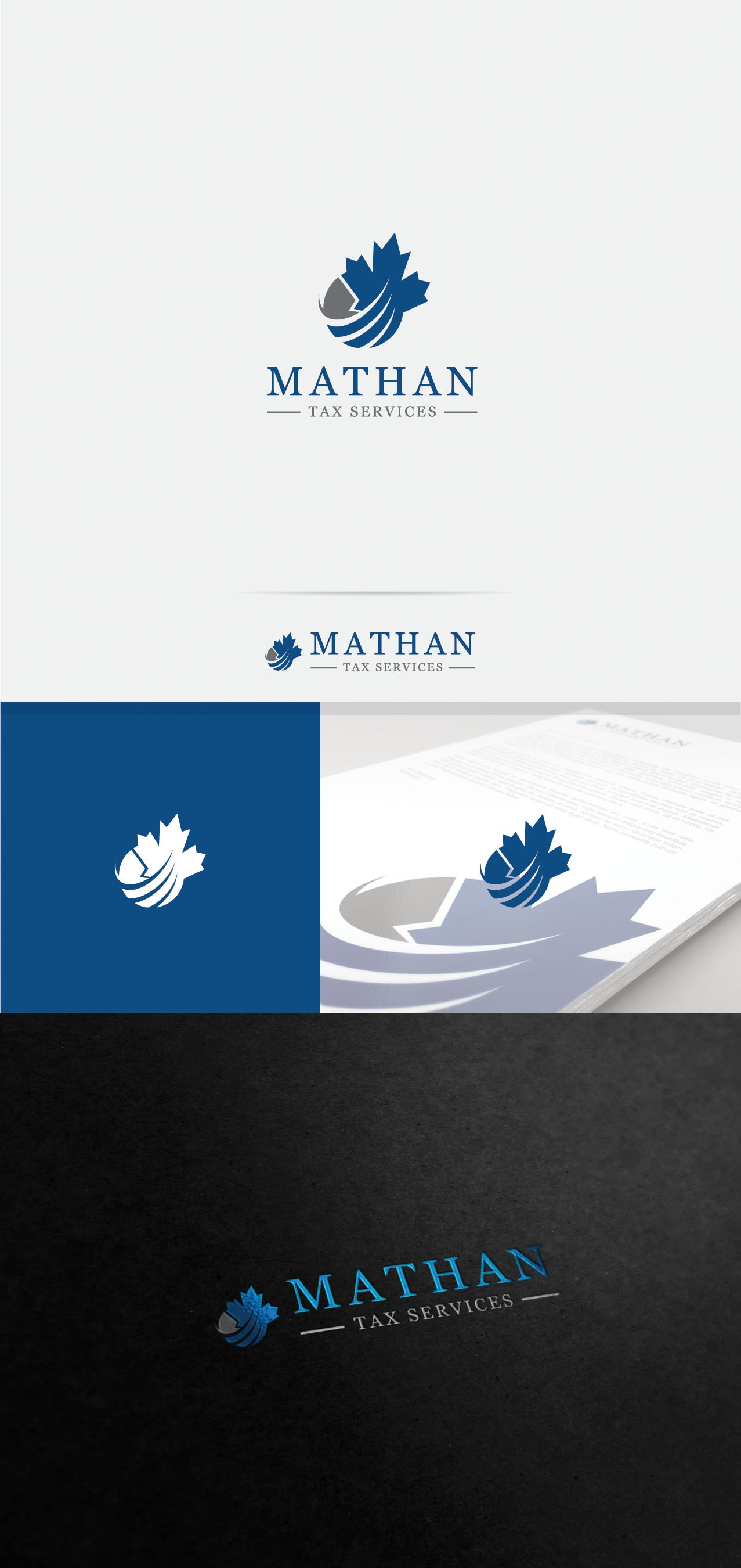 Create a logo for a longstanding Canadian accounting company - Mathan Tax Services