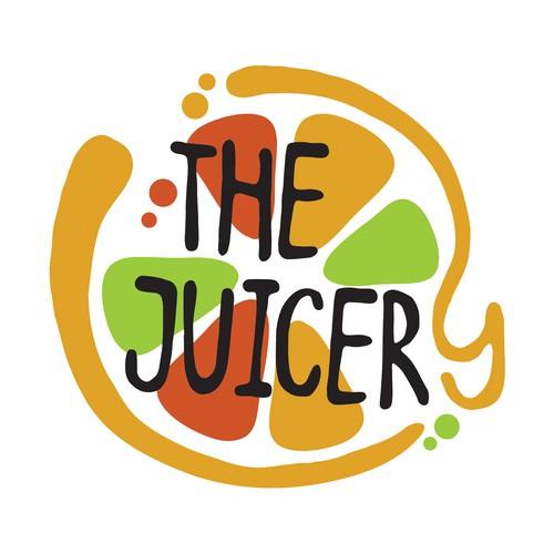 Organic logo for juice bar