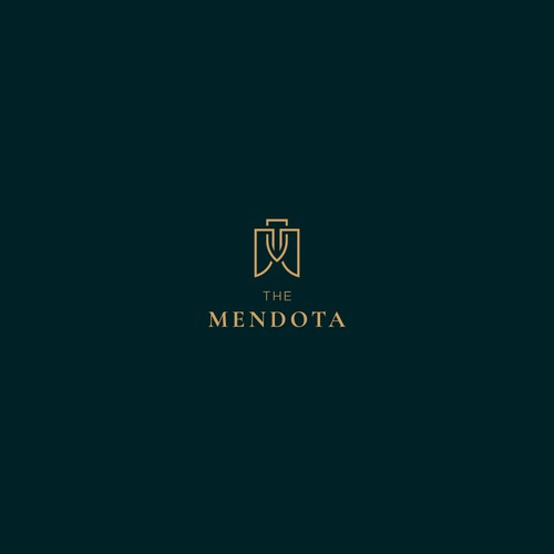 Logo for high-end apartment complex