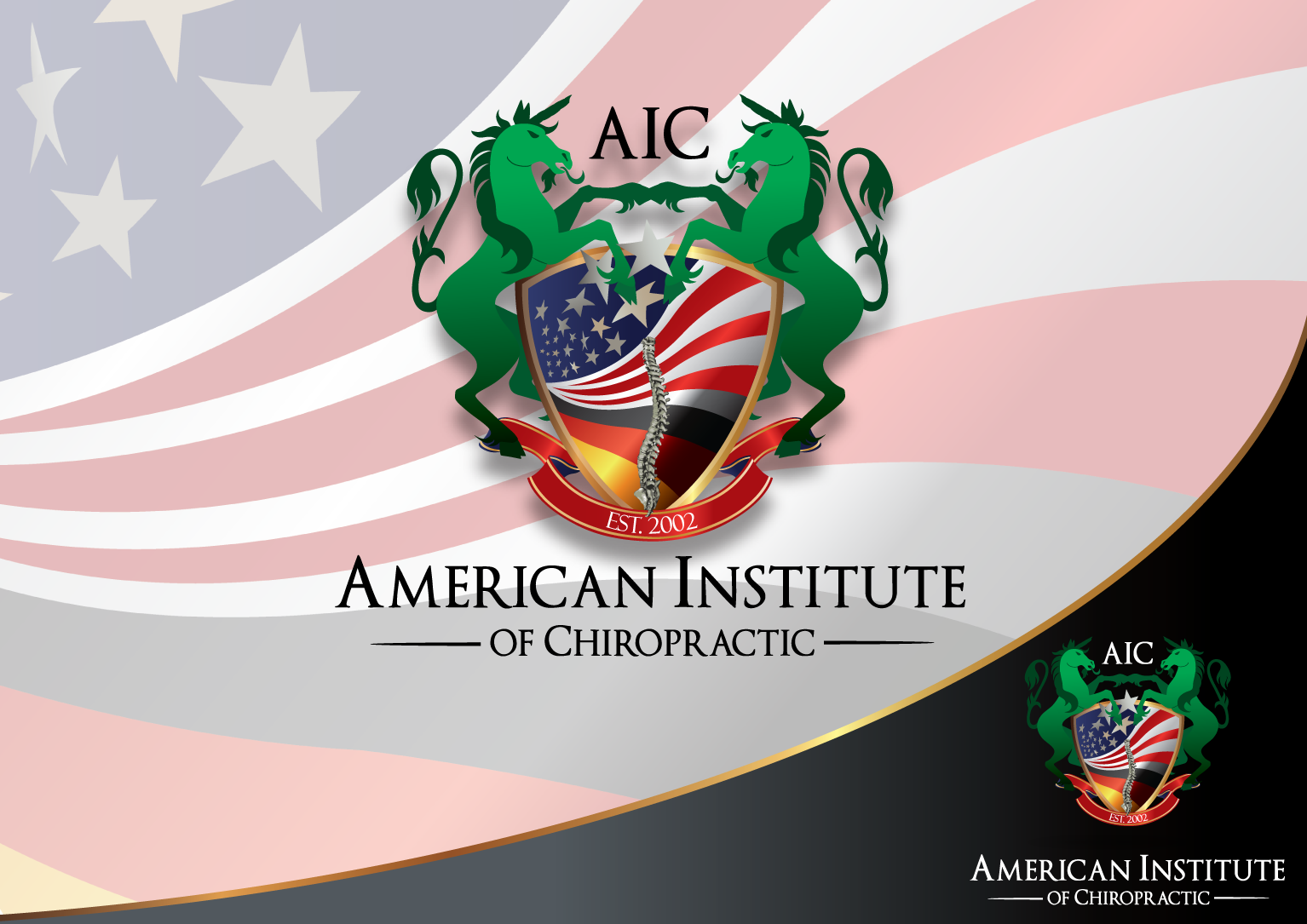 Help American Institute of Chiropraktik with a new logo
