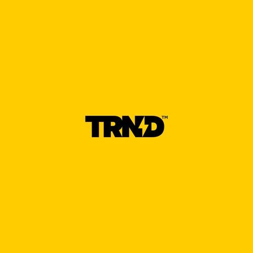 Bold logo for TRND