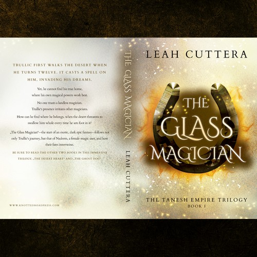 'The Glass Magician' by Leah Cuttera