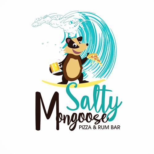 FUN LOGO Salty Mongoose