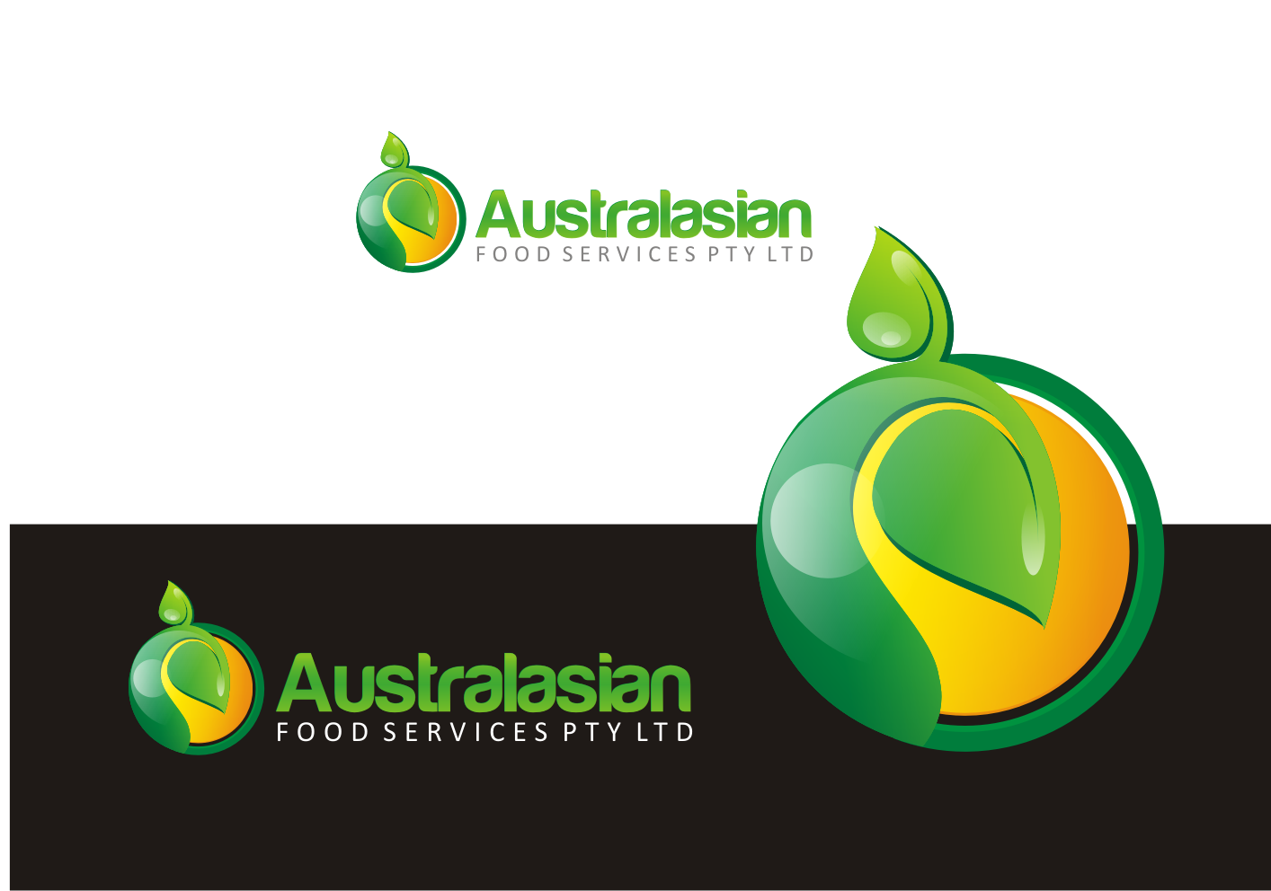 Help Australasian Food Services Pty Ltd with a new logo