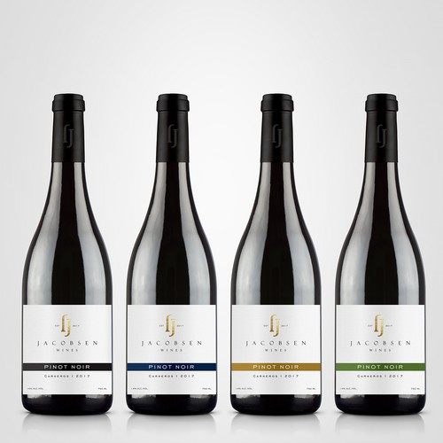 Jacobsen Wines wine range