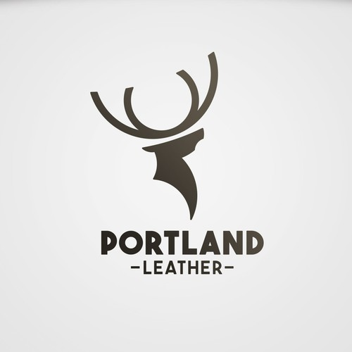 Portland Leather logo concept