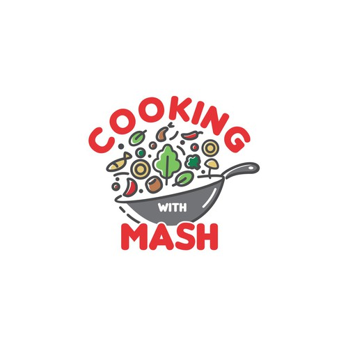 Logo for cooking video lesson