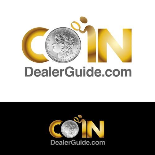 Website logo for CoinDealerGuide.com