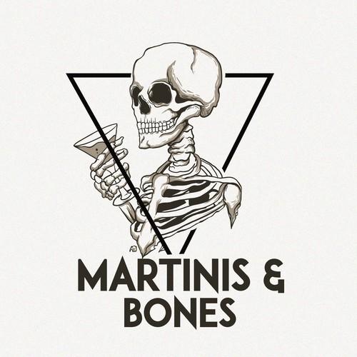 Martini and bones