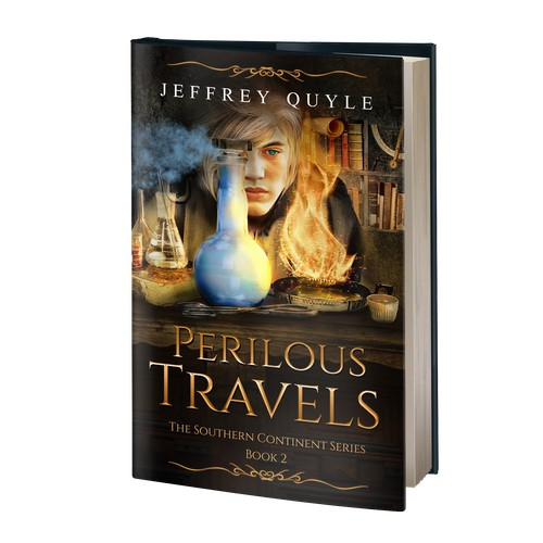 Book cover - Perilous Travels
