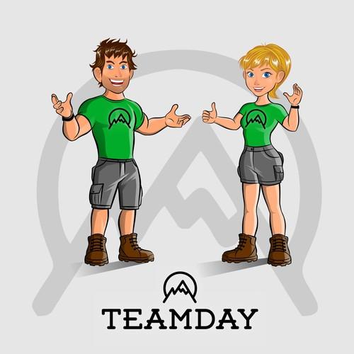 Teamday mascot final
