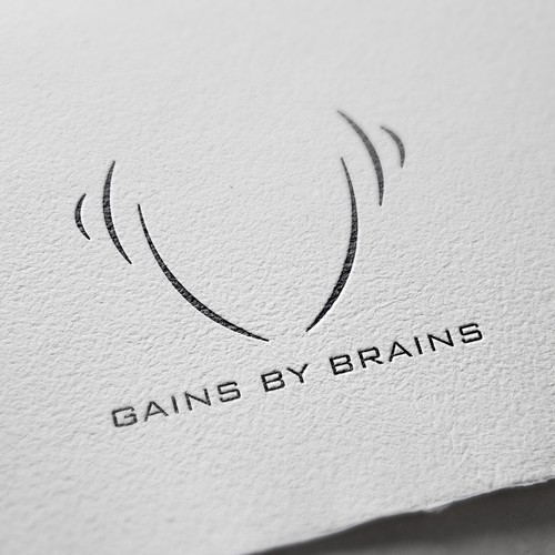 Logo & Social Media Pack Design For Gains By Brains