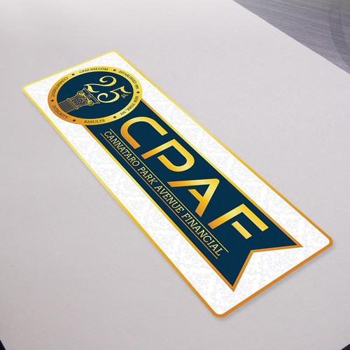 25th Anniversary CPAF Sticker