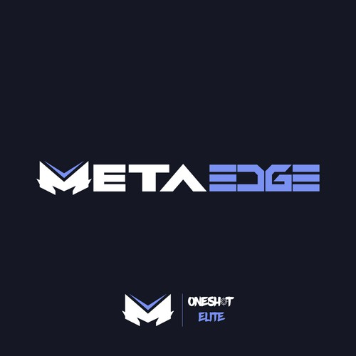 version 2 of logo concept for the professional gaming mice company MetaEdge
