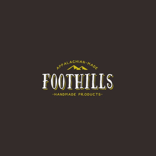 Vintage Hand Drawn Logo Concept for Foothills
