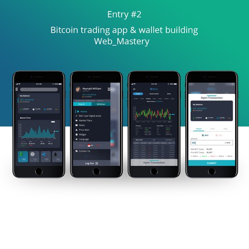 Bitcoin Trading App