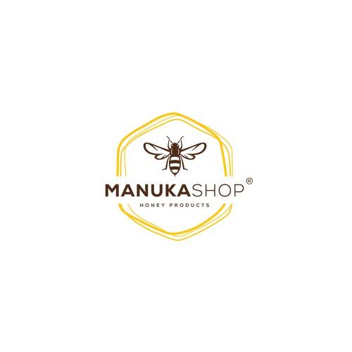 Logo for Manuka Shop