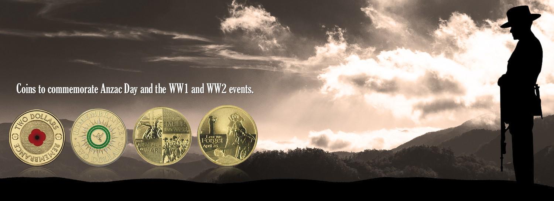 Anzac Day & WW1 and WW11 theme