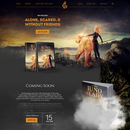 Website Design & Development of gjkemp.co.uk