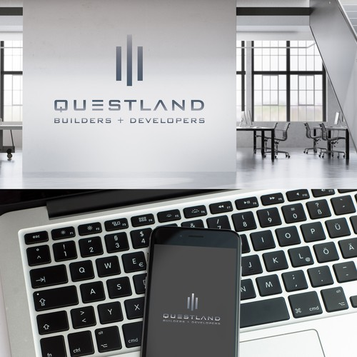 QUESTLAND BUILDERS + DEVELOPERS - Young Real Estate Developer Needs a Powerful Logo