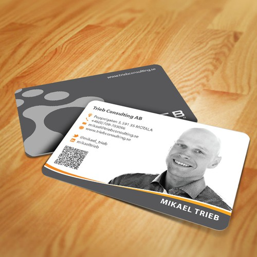 Help Trieb Consulting with a new stationery