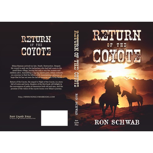'Return of the coyote' book cover