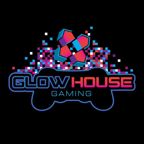 Logo for Glow House Gaming