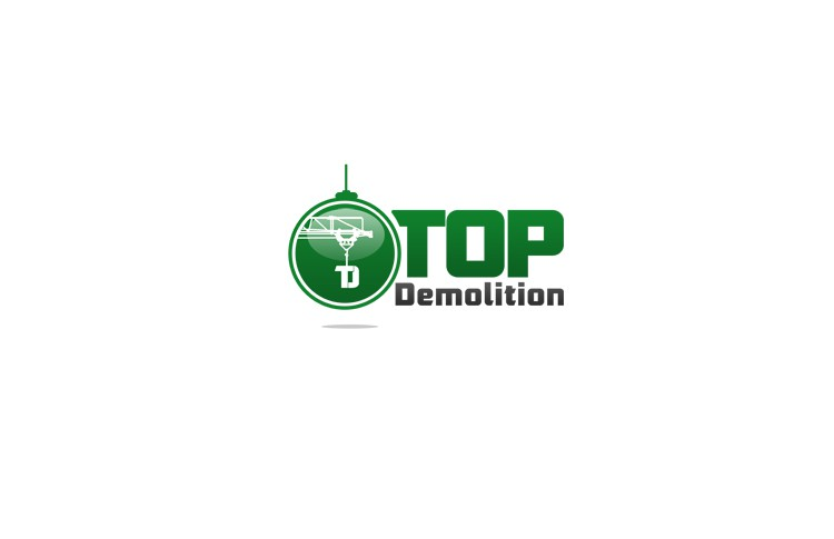 Create the next logo for top demolition