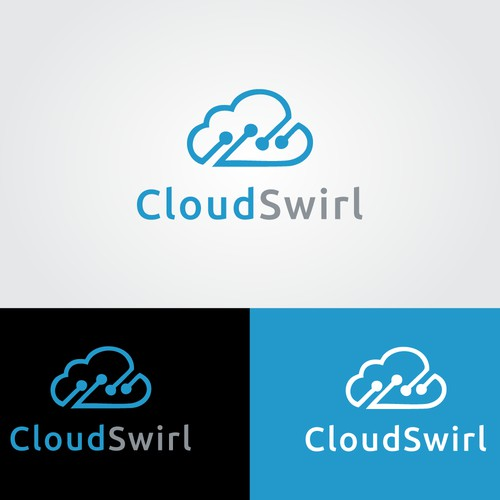 Create our new business logo for CloudSwirl