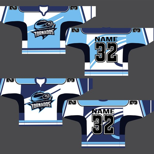 Trikot/Jersey-Design for a succesful icehockey team