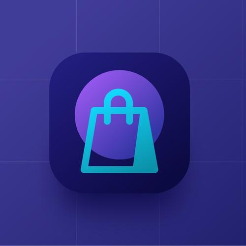 Minimal ECommerce App Icon