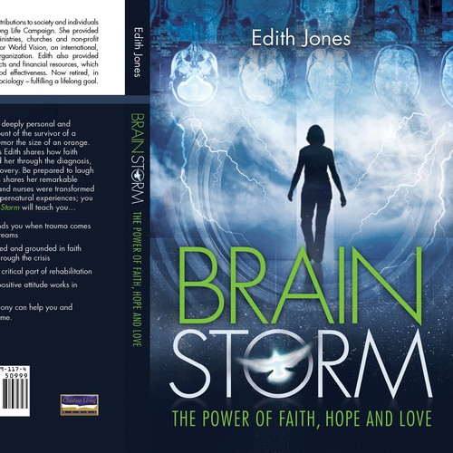 """Brain Storm"" bookcover design"