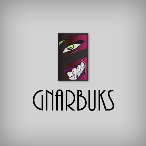Logo design concept for Gnarbuks.