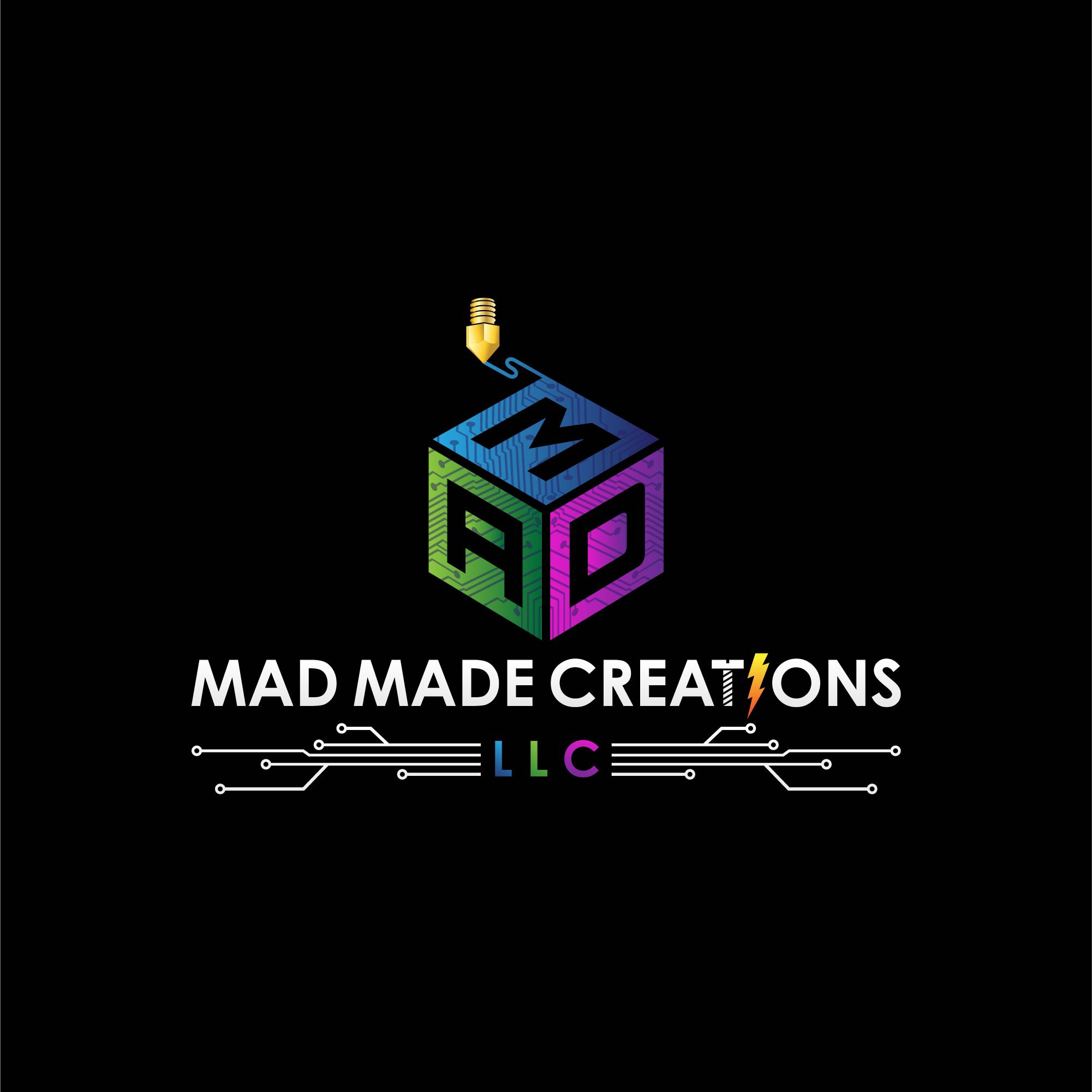 Custom Design & 3D Printing service looking for creative/modern & memorable logo with a wild and stylish edge.