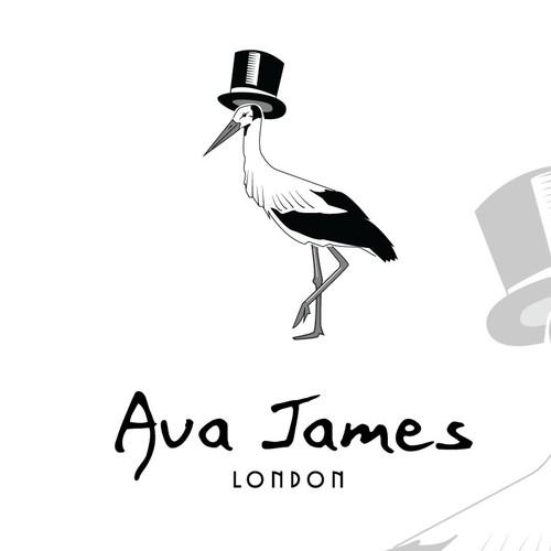 logo for Ava James