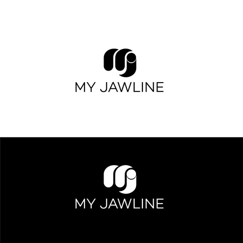 logo for a beauty product (My Jawline)