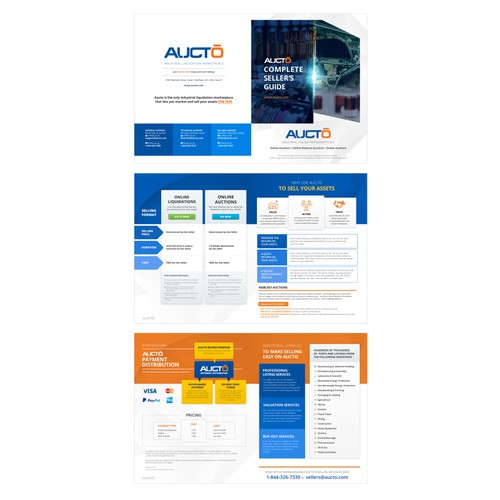 Brochure for AUCTO