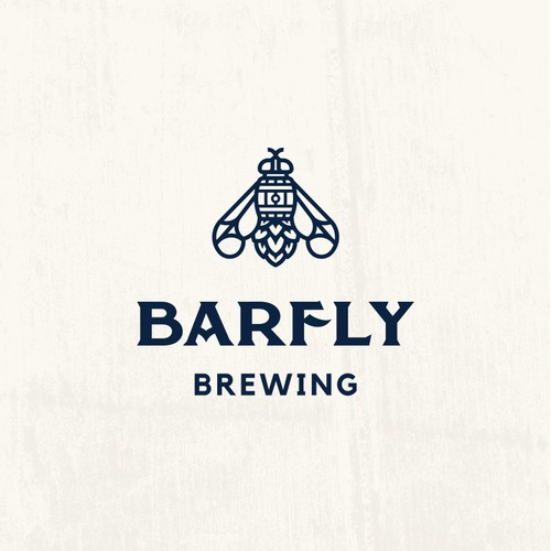 Barfly Logo For Barrel Aged Craft Beer